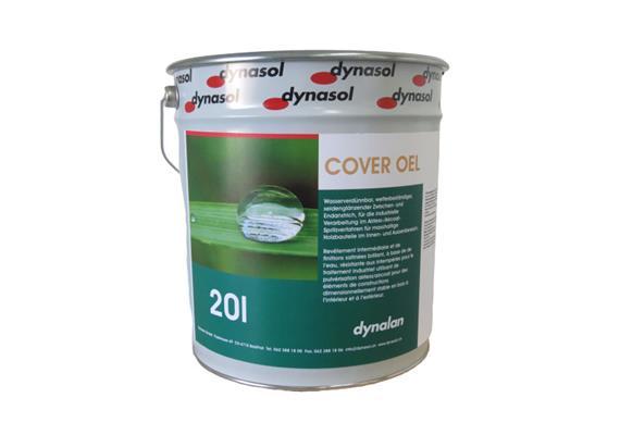 Dynalan Cover Öl RAL 9010, 20lt.