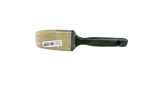 MP Flach-Pinsel Profi, helle China-Borste, 40 mm (VE 12 pro Krt.),inkl.LSVA
