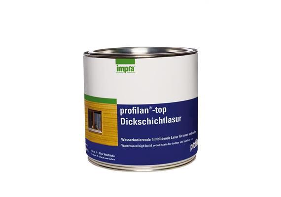 Profilan Top/Dickschichtlasur Opalweiss, 3/4 lt