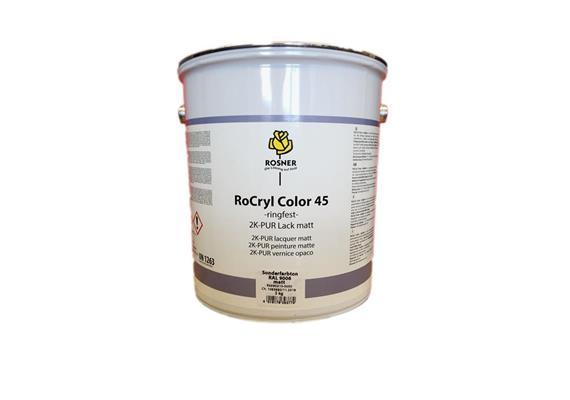 Rosner Rocryl Color RAL9006, 5lt.