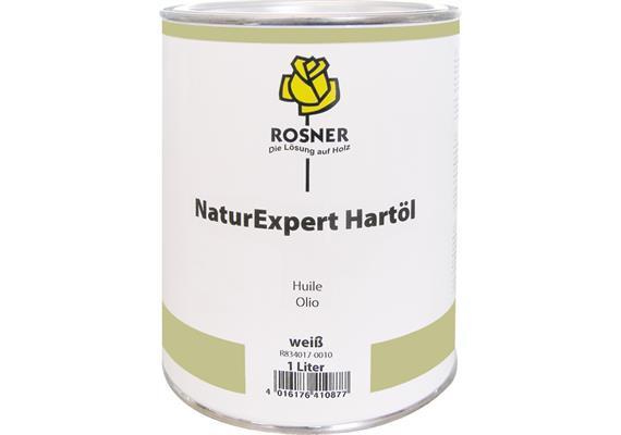 Rosner NaturExpert Hartöl weiss, 1 lt.