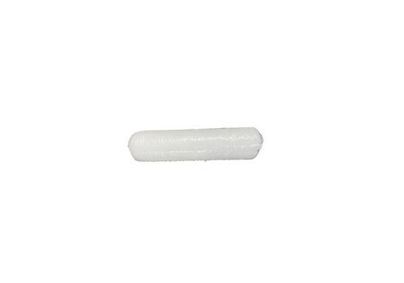 Walze 10cm K16 Polyester4 texturiert weiss (VE 10 pro Krt.), inkl.LSVA