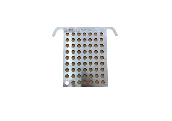 Abstreifgitter Metall klein 14.5x20 cm (VE 10 pro Krt.)