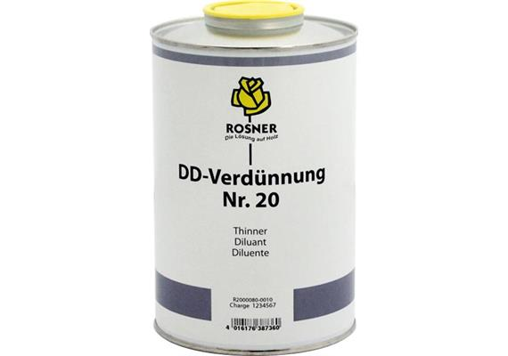 Rosner Dilutif DD No. 20, 25 lt.
