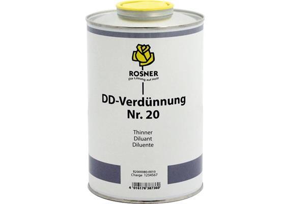Rosner Dilutif DD No. 20, 5 lt.