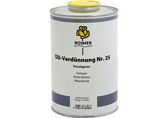 Rosner Dilutif DD No. 25 (retardateur), 5 lt.