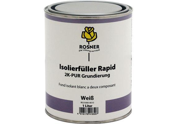 Rosner enduit isolant rapide blanc, 1lt.
