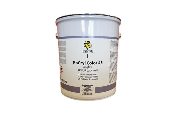 Rosner Rocryl Color métallique RAL9006, 5lt.